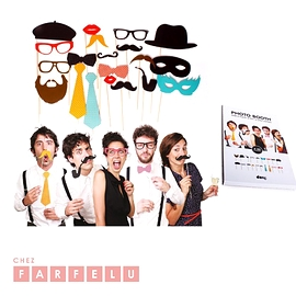 Ensemble de déguisements Photo Booth