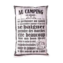 Coussin Au Camping Les Règles
