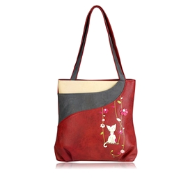 Sac Espe Swing Tote Chat rouge