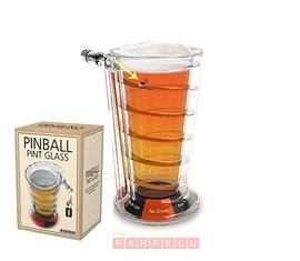 Verre à bière Pinball