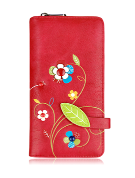 Portefeuille Espe Floria, CL rouge