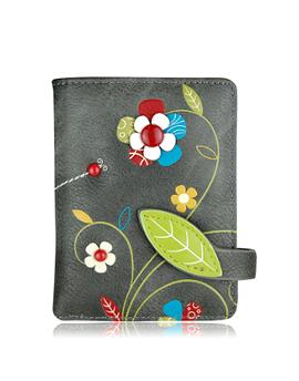 Portefeuille Espe Floria, s gris