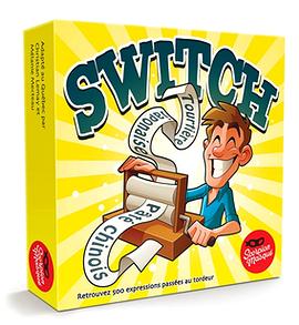 Jeu Switch boîte jaune