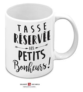 Tasse Réservée aux Petits...