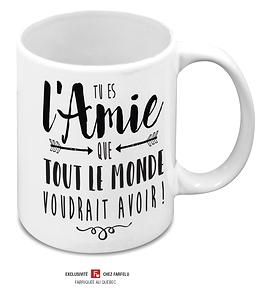 Tasse Tu es l'Amie