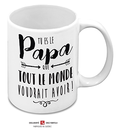 Tasse Tu es le Papa