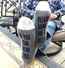 Bas de laine, Beer, x-large