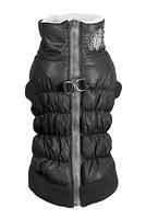 Manteau harnais noir