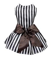 La robe popcorn noir