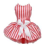 La robe popcorn rouge