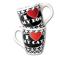 Tasse I love my dog /cat