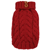 Cityscape sweater rouge