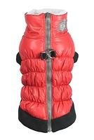 Manteau harnais rouge
