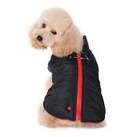 Manteau hiver harnais noir