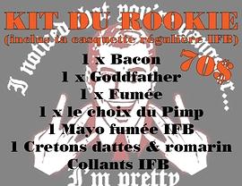 Kit du Rookie + 1 Casquette régulière IFB