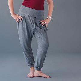 Pantalon ample gris