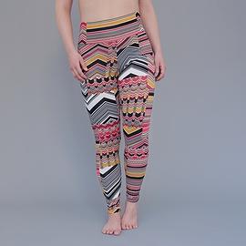 Legging rayures funky