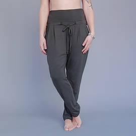 Pantalon ample - olive