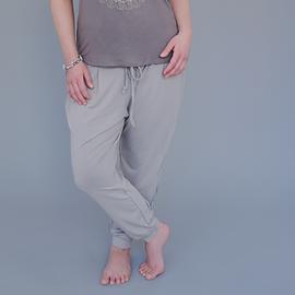 Pantalon ample sable