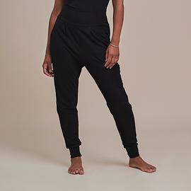Pantalon molletonné - noir
