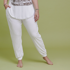 Pantalon avec poches - blanc