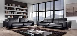 Canapé design de cuir
