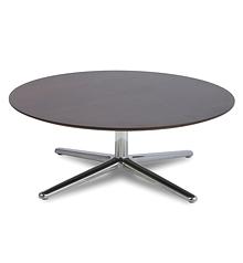 Table basse ronde inox