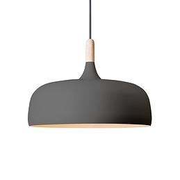 Lampe suspendue en bois