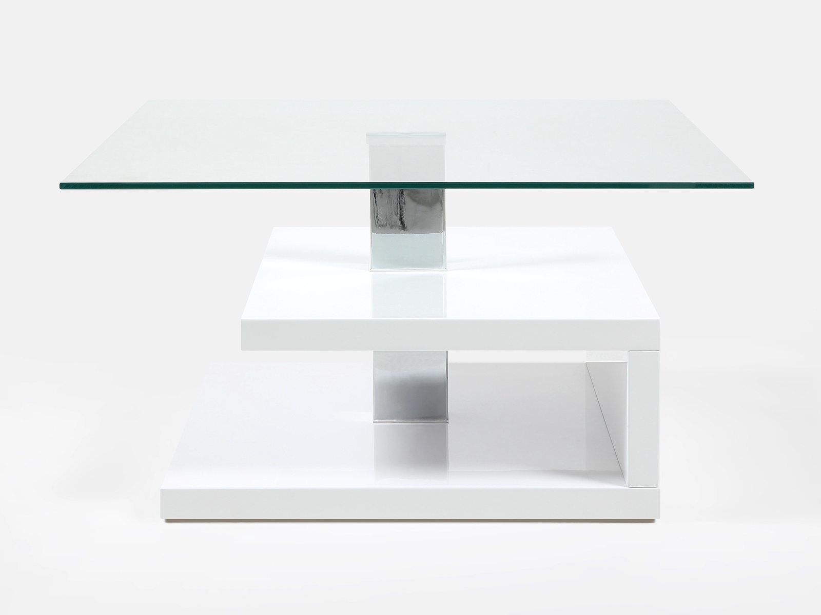 Design glass coffee table