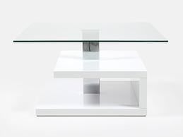 Design glass coffee table