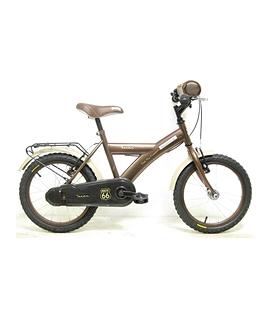 Vélo brun