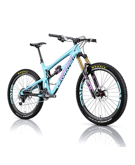 Vélo turquoise