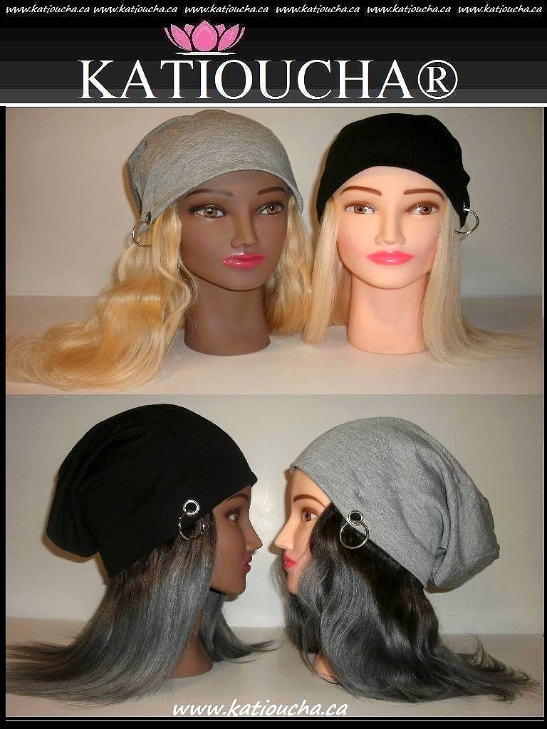 Slouchy Beanies with Ring   Human Hair 8A. Onepiece    1b-Grey   Blonde   613   8   to 18    cd5328143e7