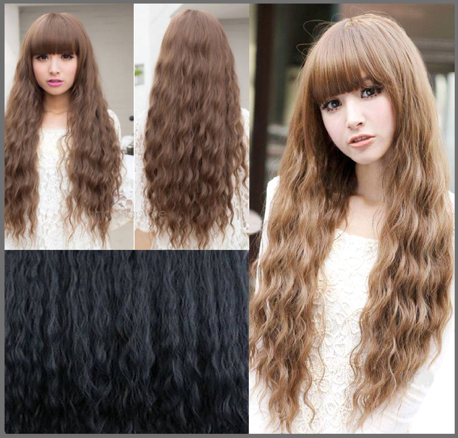 Cheveux long au naturel