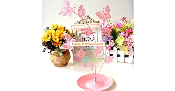Jewell Holder Butterflie 028 25 Cm X 12 Cm Pink