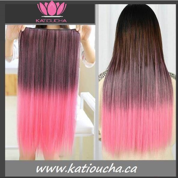 Clip In Hair Extension Straight Hair 60 Cm 24 120g Color Brown