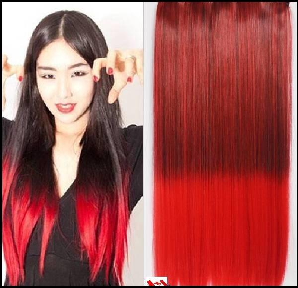 couleur cheveux ombre rouge coiffures populaires. Black Bedroom Furniture Sets. Home Design Ideas