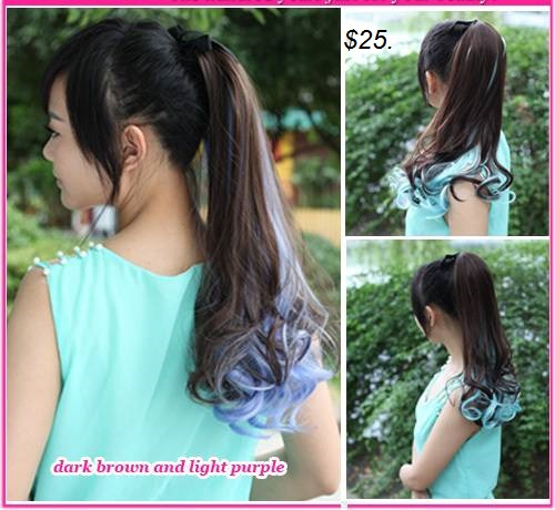 Ponytail ombre hair extension pmusecretfo Gallery