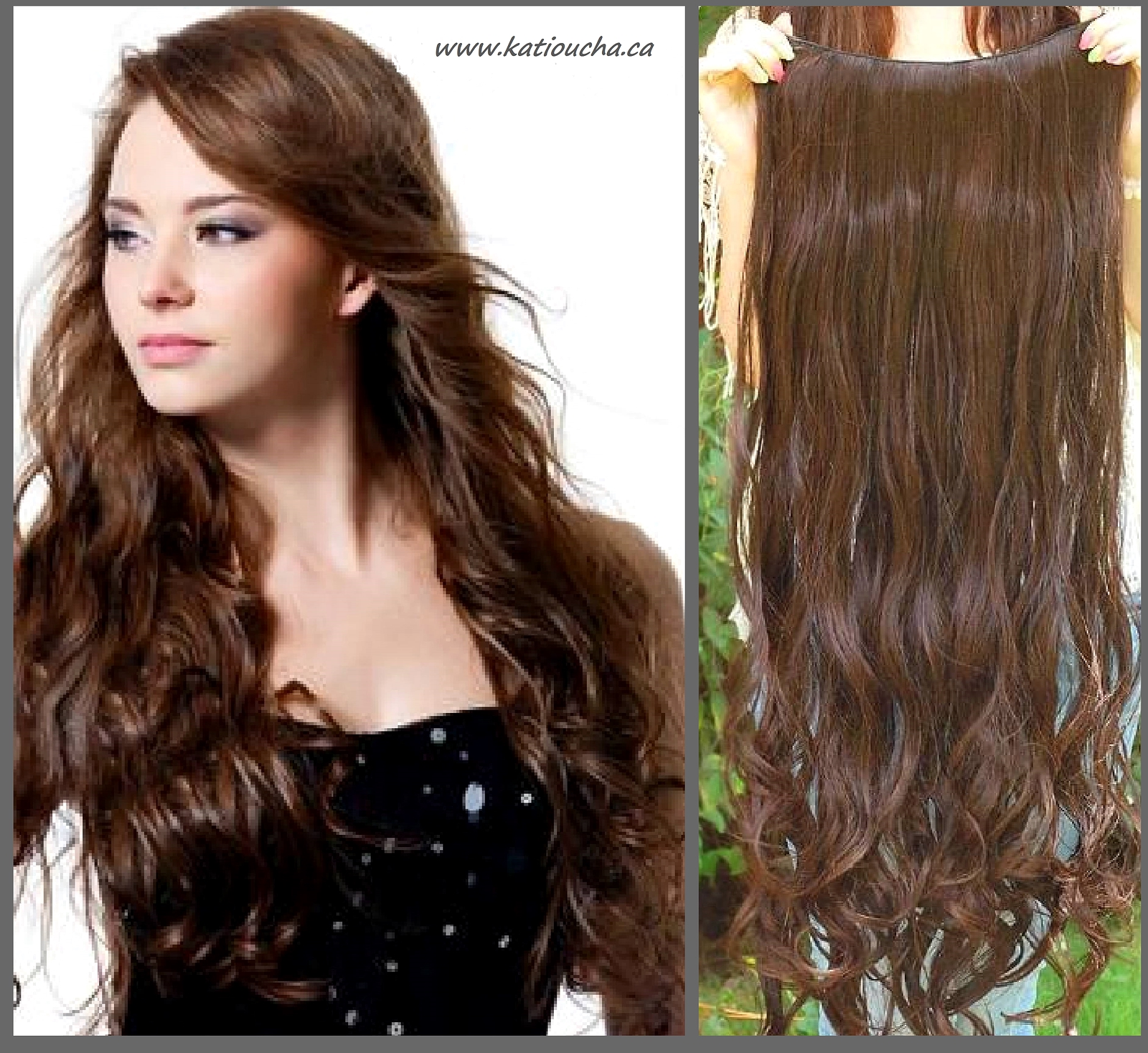 Clip In Hair Extension Loose Curl Wavy Curly Hair 60 Cm 24 All B