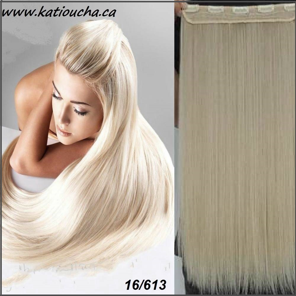 Clip In Hair Extension Straight Hair 60 Cm 24 120g Color 16613