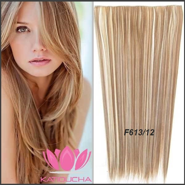 Clip In Hair Extension Straight Hair 60 Cm 24 Color F61312