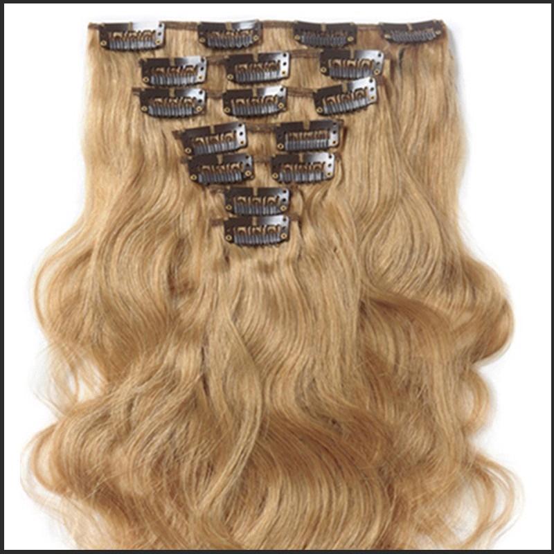 Clip In Hair Volumater Clip In Hair Extension 7 Pcs Set 120g