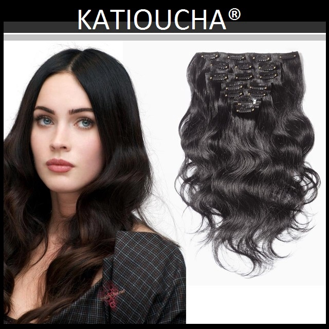 Clip In Hair Volumater Clip In Hair Extension 7 Pieces Set 100