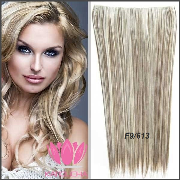 Clip In Hair Extension Straight Hair 60 Cm 24 Color F9613
