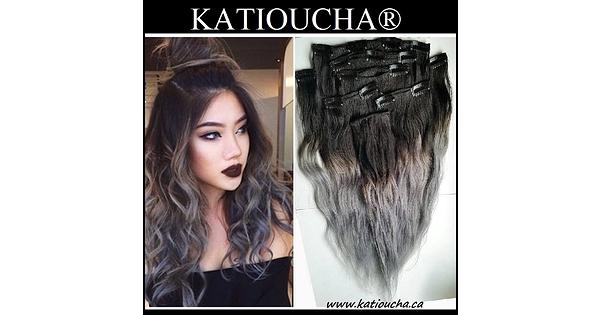 Clip In Hair Volumater Clip In Hair Extension 7 Pcs Set