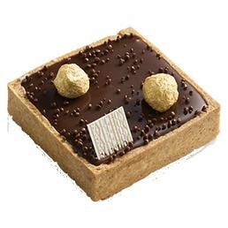 Tarte au chocolat et noisette