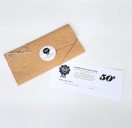Certificat-cadeau de 50$