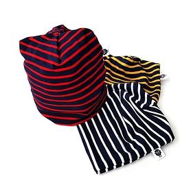 Tuque tricot rayé/choix de couleurs