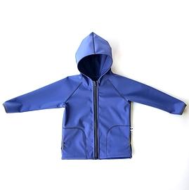 Blouson Softshell bleu