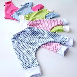 Minis évolutifs 0-9 mois tricot